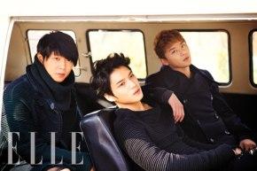 [PHOTO] JYJ in ELLE Korea – PhotoshootPreview