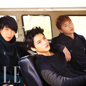 [PHOTO] JYJ in ELLE Korea – Photoshoot Preview