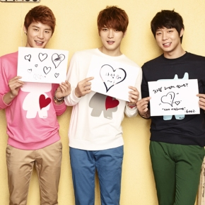[PHOTO] JYJ NII Spring 2012 Heart Campaign