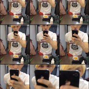 [NEWS] Jaejoong Uploads a PlayfulSelca