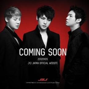 [INFO] JYJ Japan Official Website is ComingSoon!
