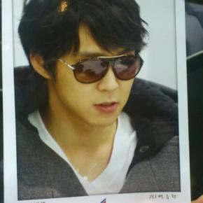 "[PHOTO] Yoochun and Junsu's Endorsement for French Eye Wear Brand ""Daniel Hechter"""